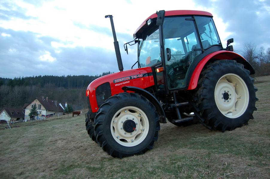 Zetor Traktor Cz Nab 237 Dka Traktorů Zetor 7341 Super